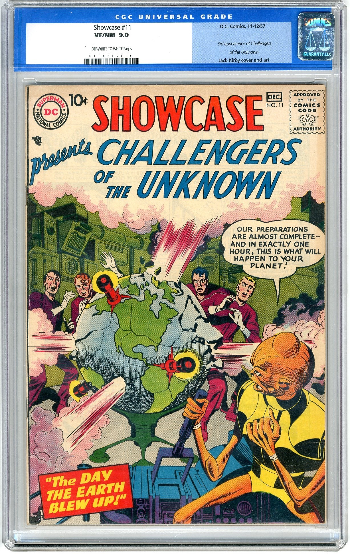 Showcase Presents  The Challengers Of The Unknown - Primary