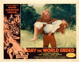 Day The World Ended  1956  8 Lobby Card Set - Primary
