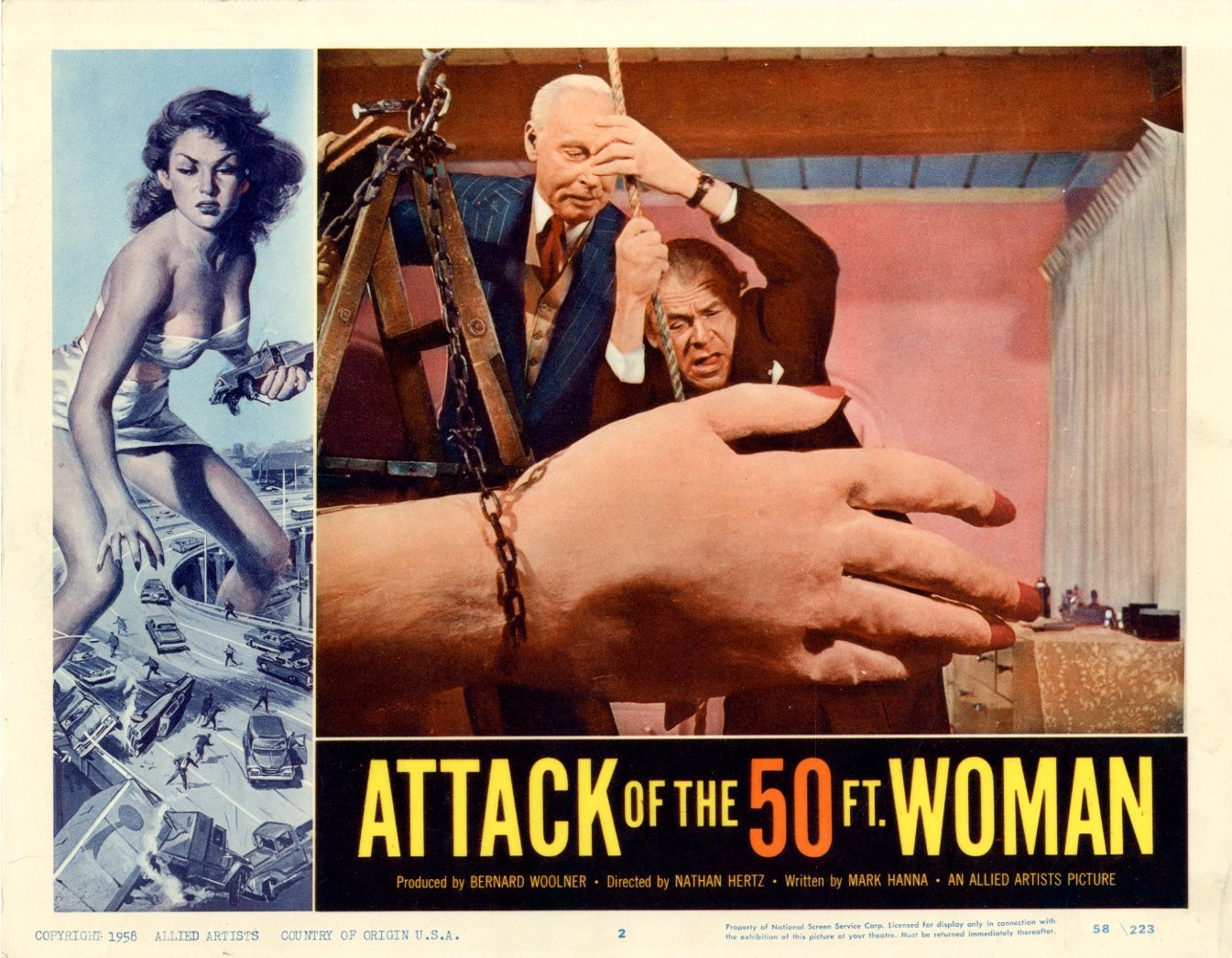 Attack Of The 50 Ft Woman  1958 - 1097