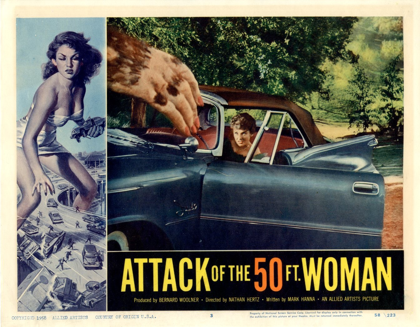 Attack Of The 50 Ft Woman  1958 - 1098