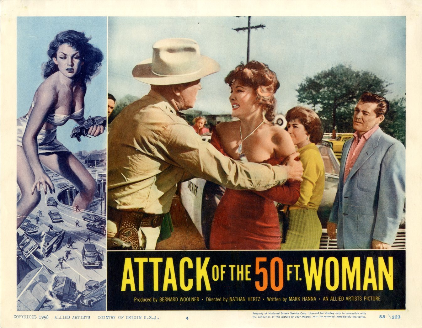 Attack Of The 50 Ft Woman  1958 - 1100