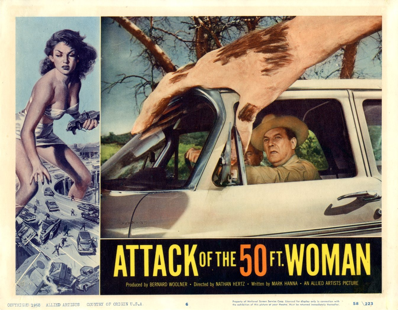 Attack Of The 50 Ft Woman  1958 - 1102