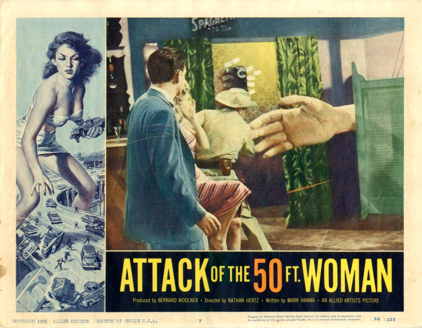 Attack Of The 50 Ft Woman  1958 - 1103