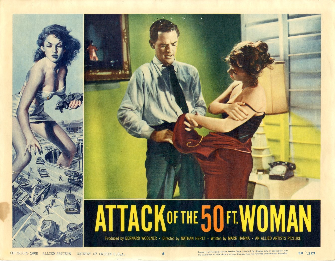 Attack Of The 50 Ft Woman  1958 - 1104