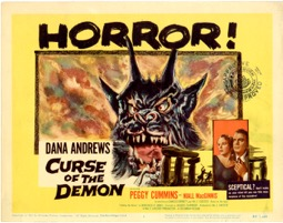 Curse Of The Demon  1957  8 Lobby Card Set - Primary