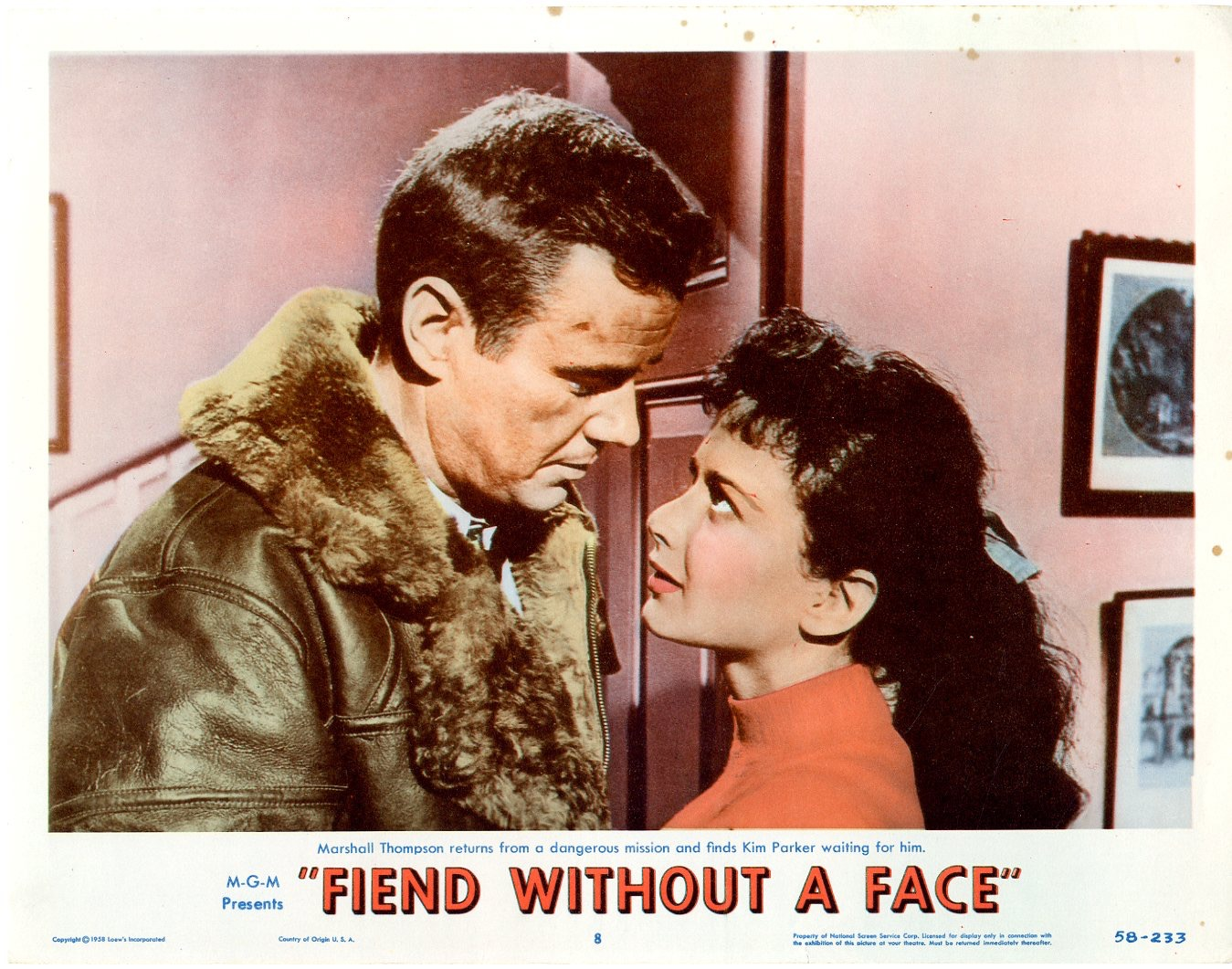Fiend Without A Face 1958 / Issue #8 | Sold Details | Four Color Comics