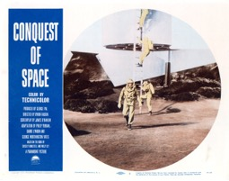 Conquest Of Space  1955  8 Lobby Card Set - Primary