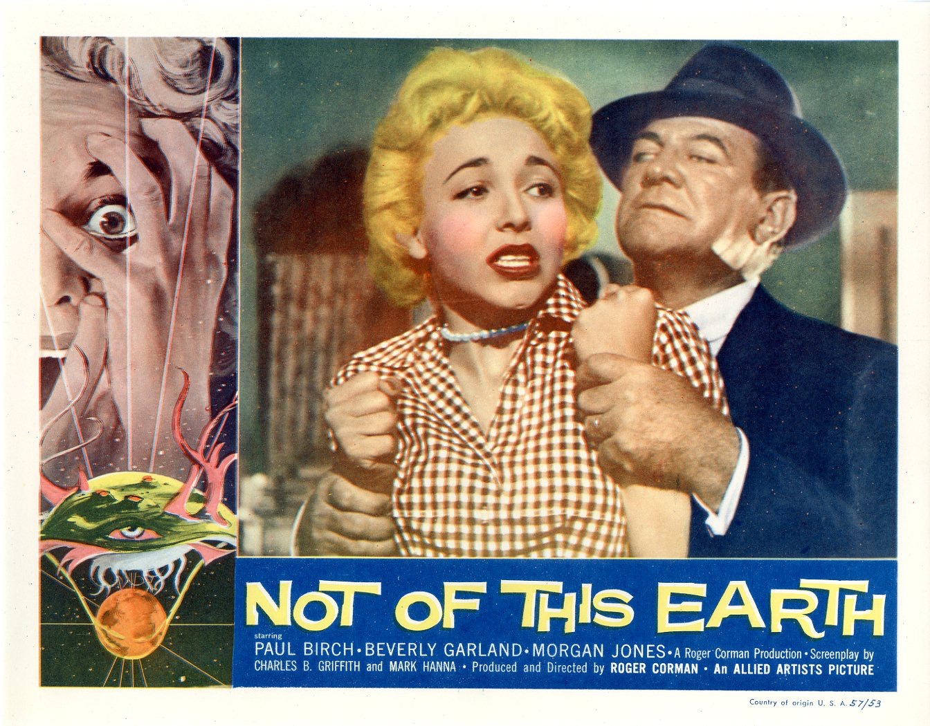 Not of This Earth 1957 / Issue #1 : Sold Details : Four ...