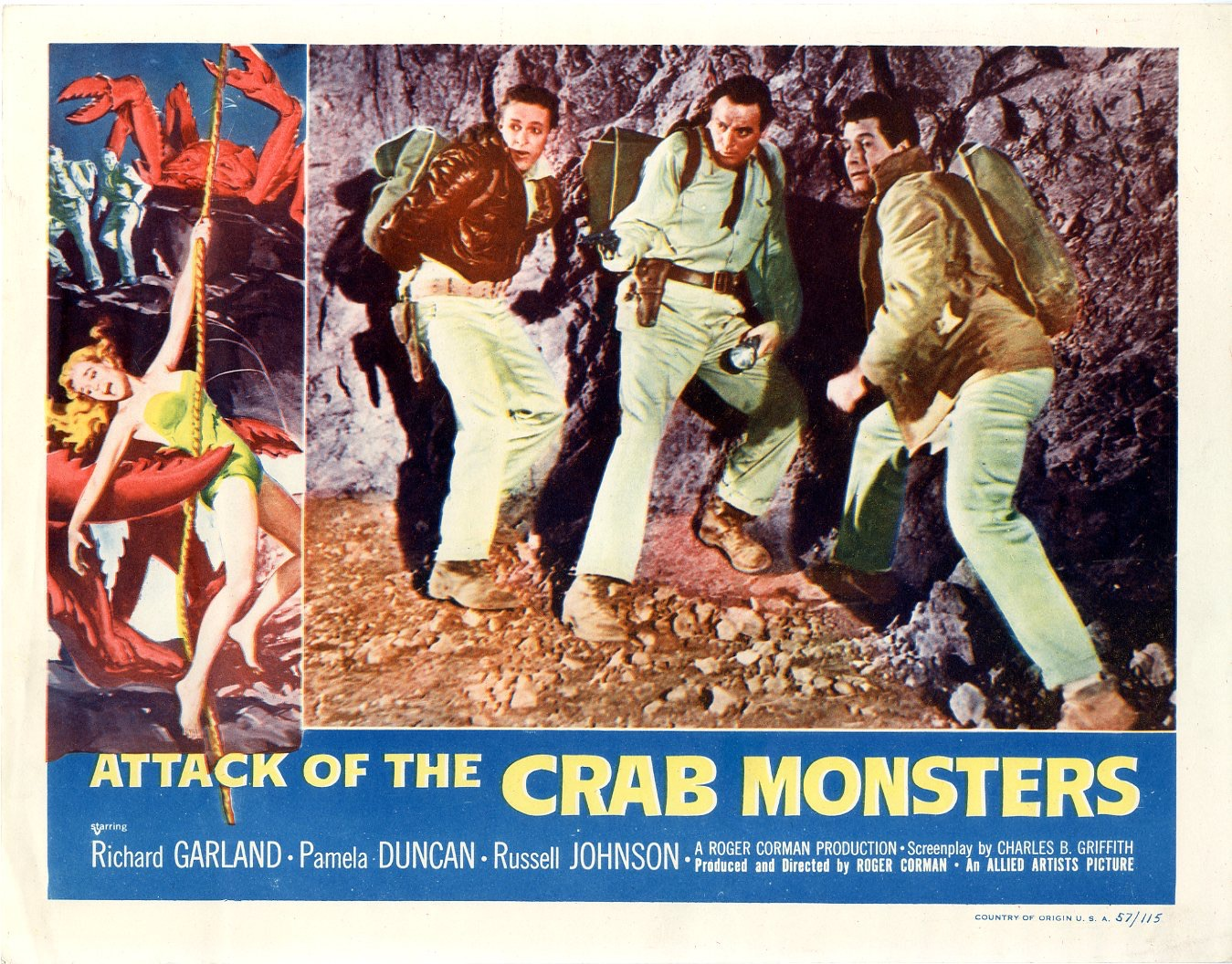 Attack of the Crab Monsters 1957 | Posters Details | Four ...