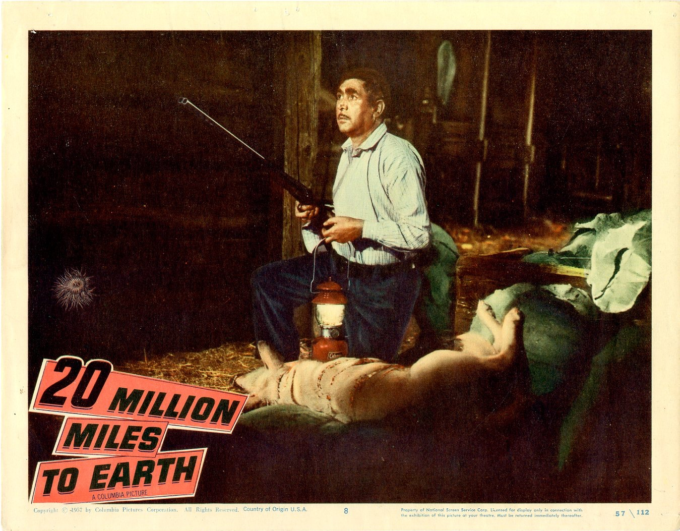 20 Million Miles To Earth 1957 - 400