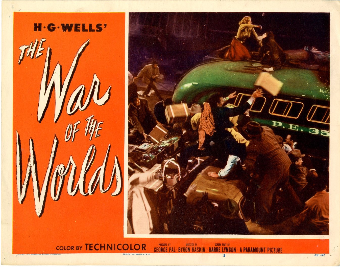 War of the Worlds 1953 set #3 / Issue #3 | Sold Details ...