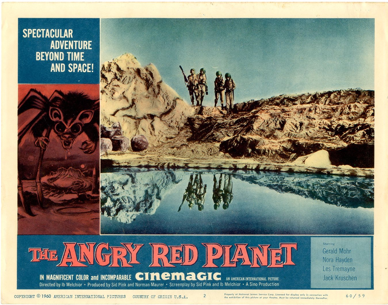 Angry Red Planet   1960 - 401