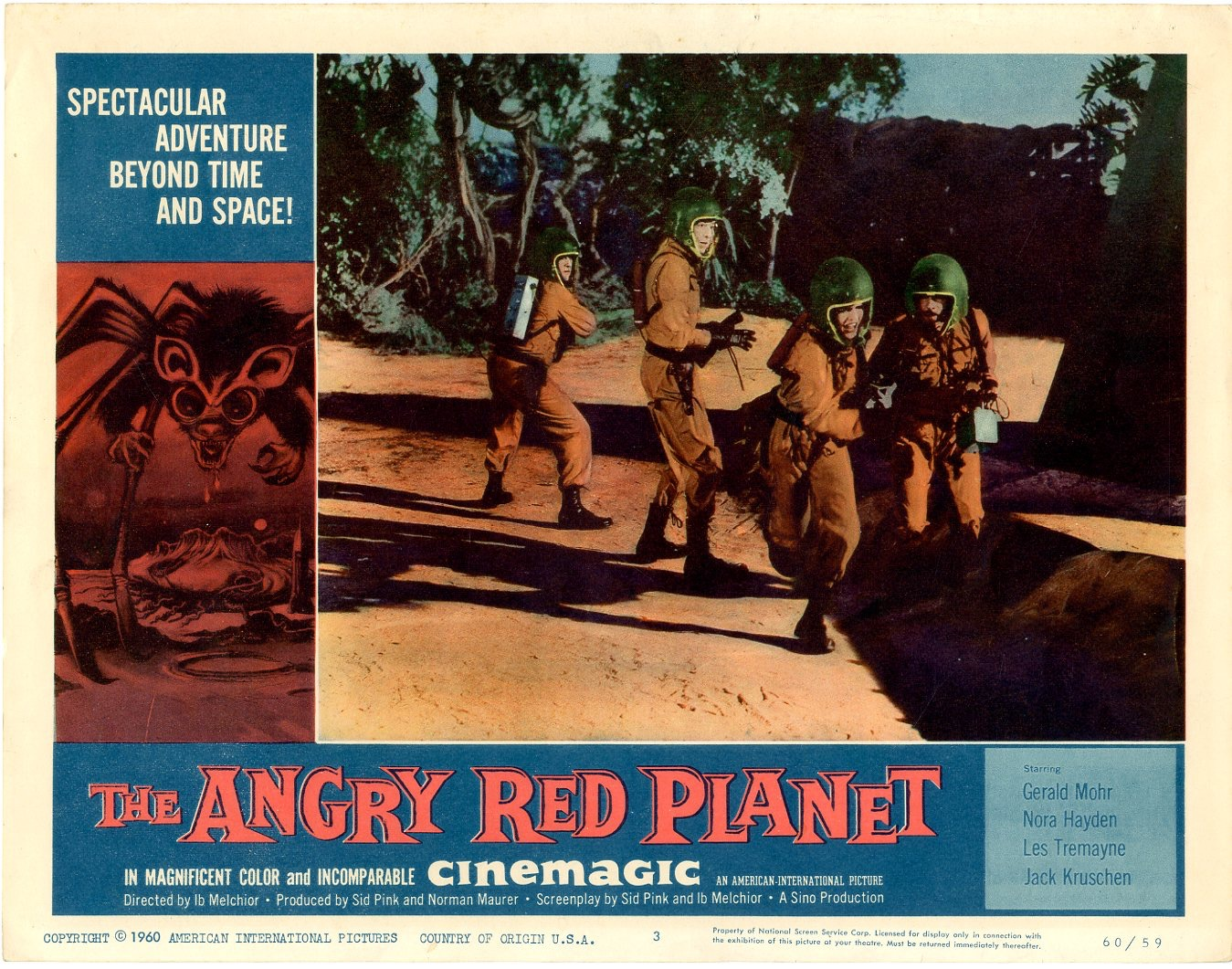 Angry Red Planet   1960 - 402