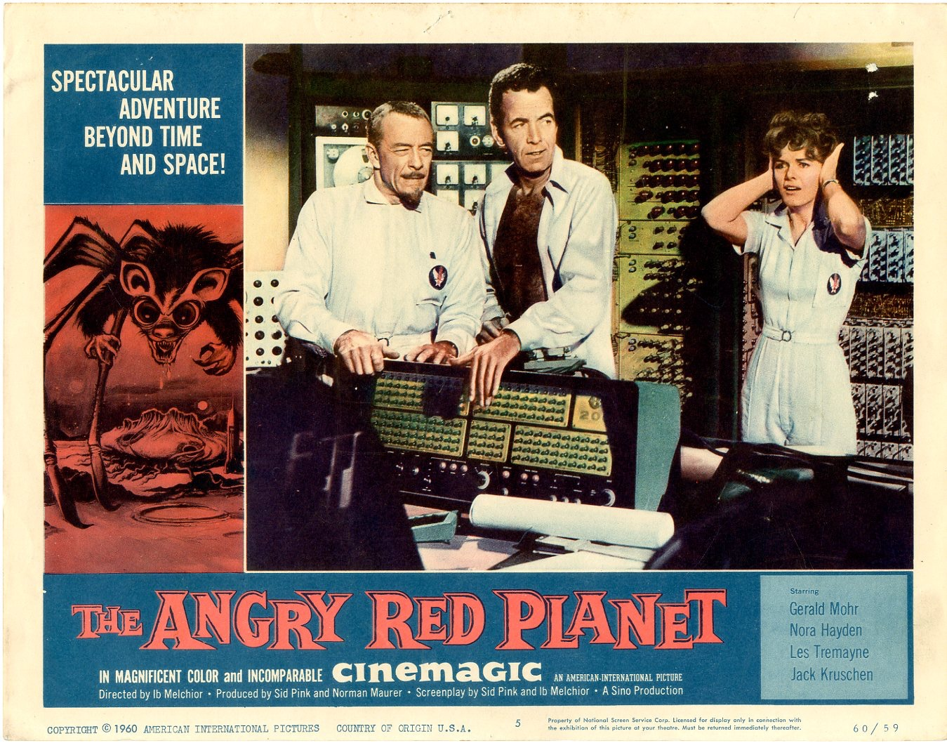 Angry Red Planet   1960 - 404