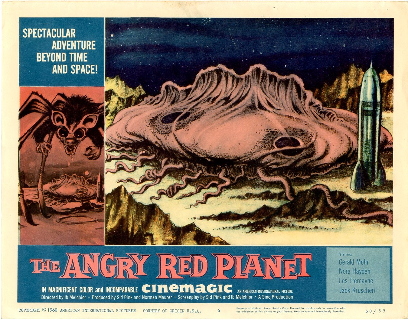 Angry Red Planet   1960 - 405