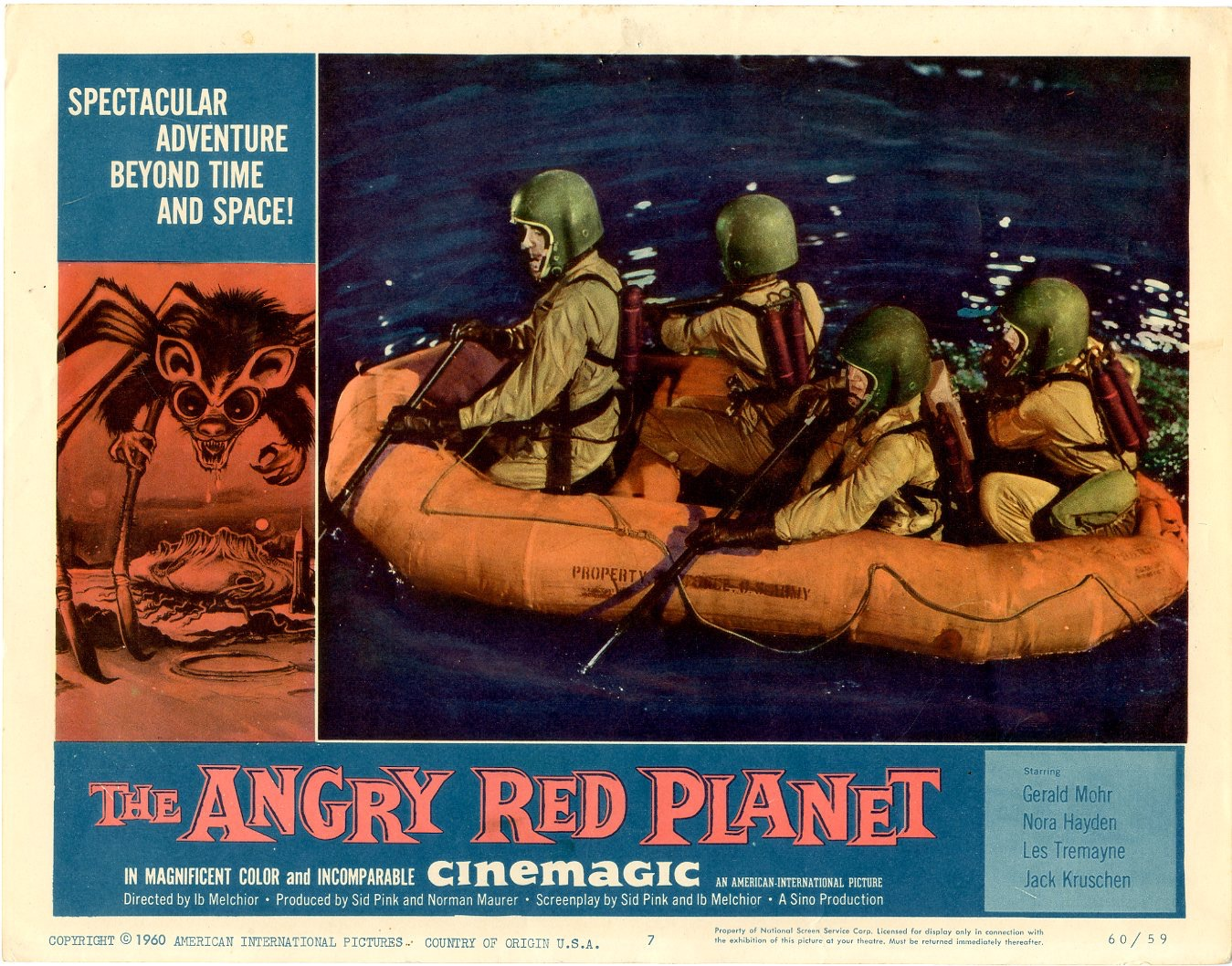 Angry Red Planet   1960 - 406