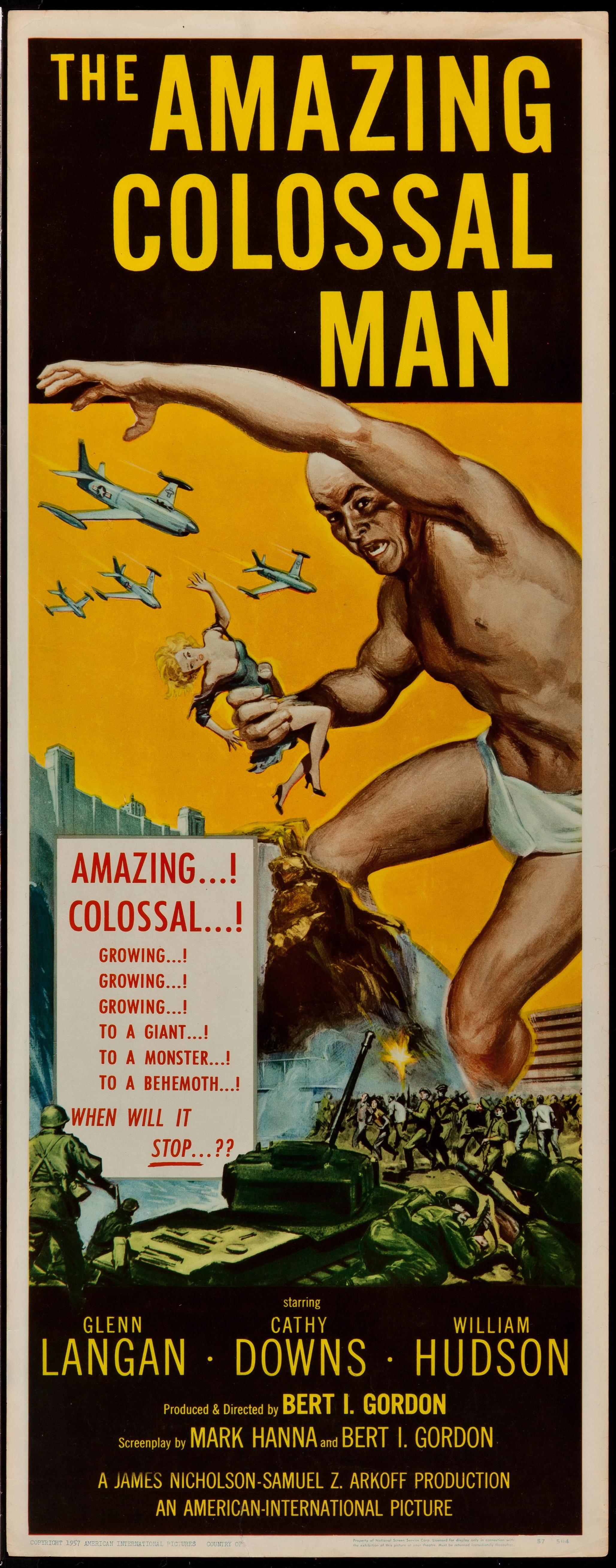 Amazing Colossal Man 1957 - Primary
