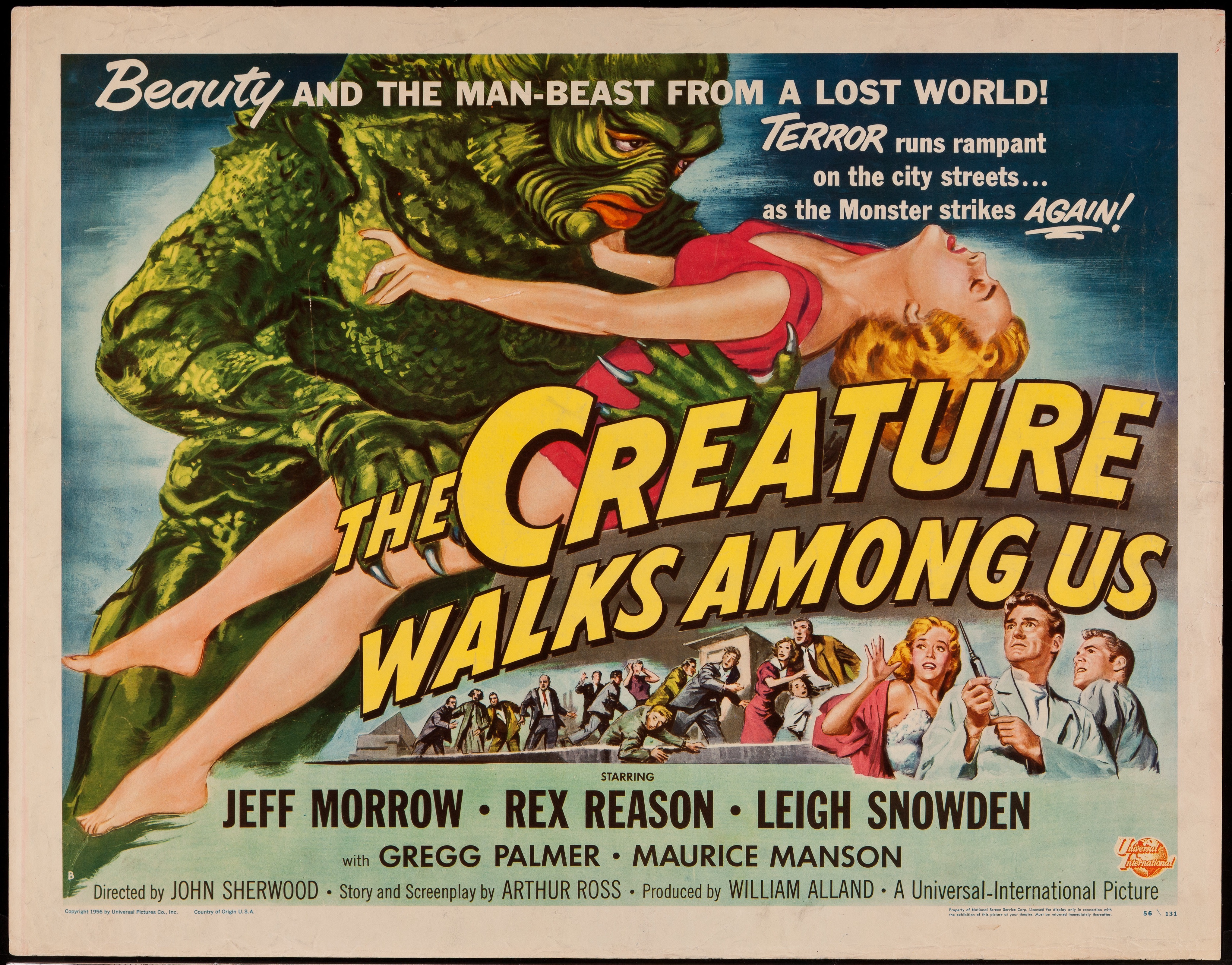 Image result for the creature walks among us