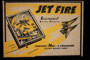 Jet Fire Electric Pinball Machine - Primary