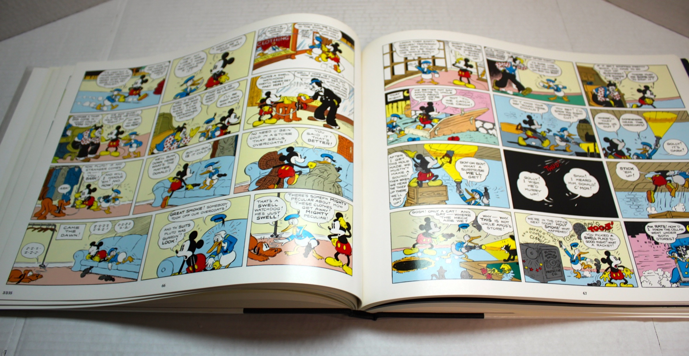 Mickey Mouse In Color  Hard Cover - 17567