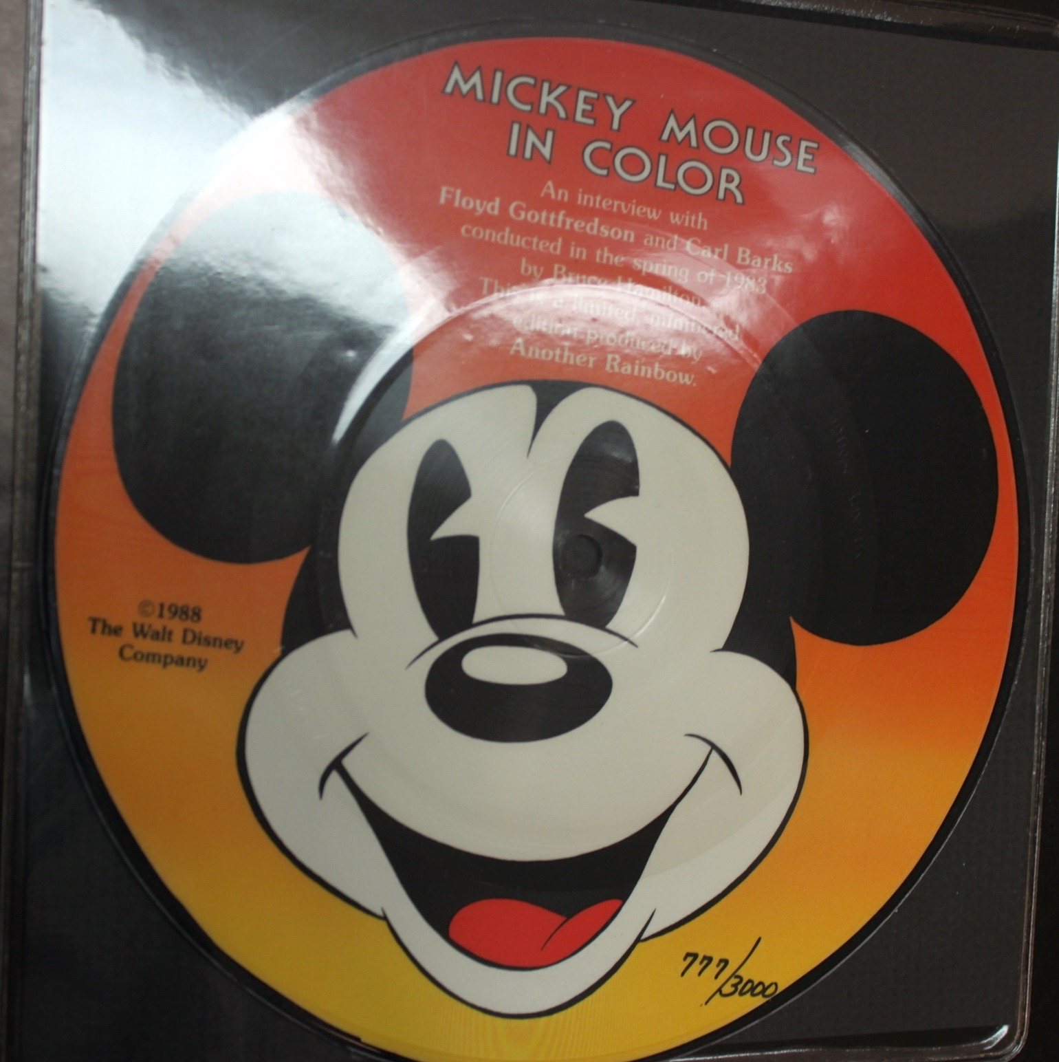 Mickey Mouse In Color  Hard Cover - 17570