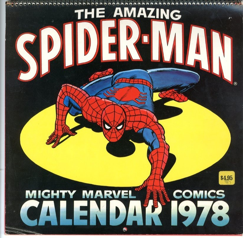 Marvel Comics Calendar - Primary