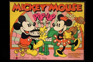Mickey Mouse Pop-up Play Set - Primary