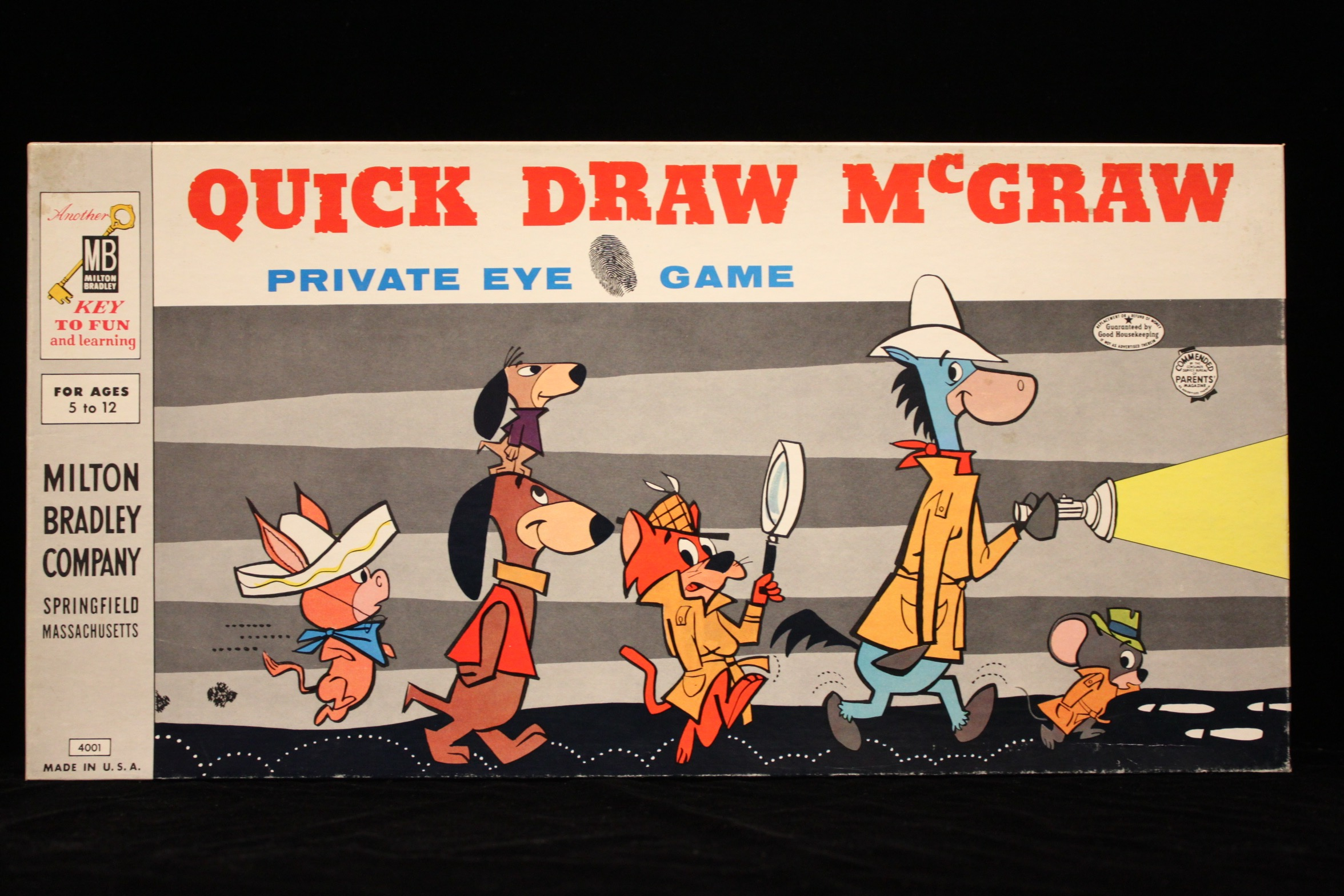 Quick Draw Mcgraw Game Sold Details Four Color Comics