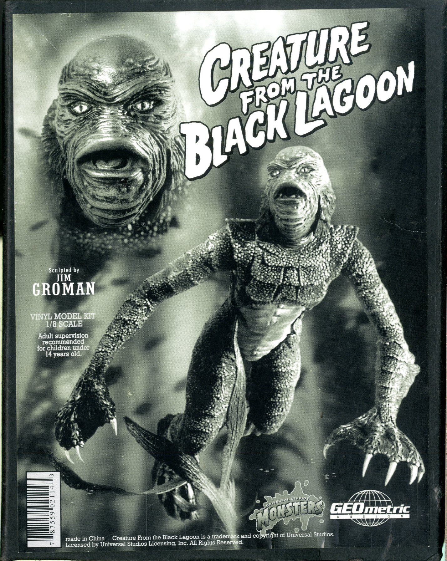 Creature From the Black Lagoon Vinyl Model Kit | Sold Details | Four