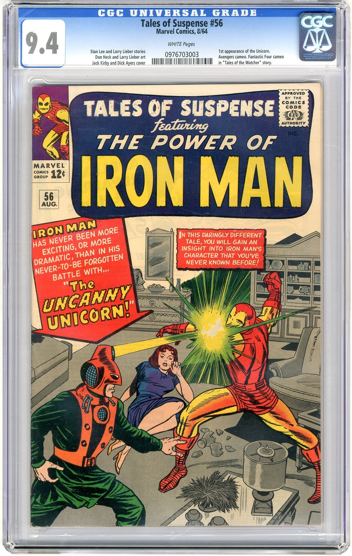 Tales Of Suspense - Primary