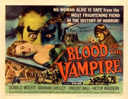 Blood Of The Vampire   1958  - Primary