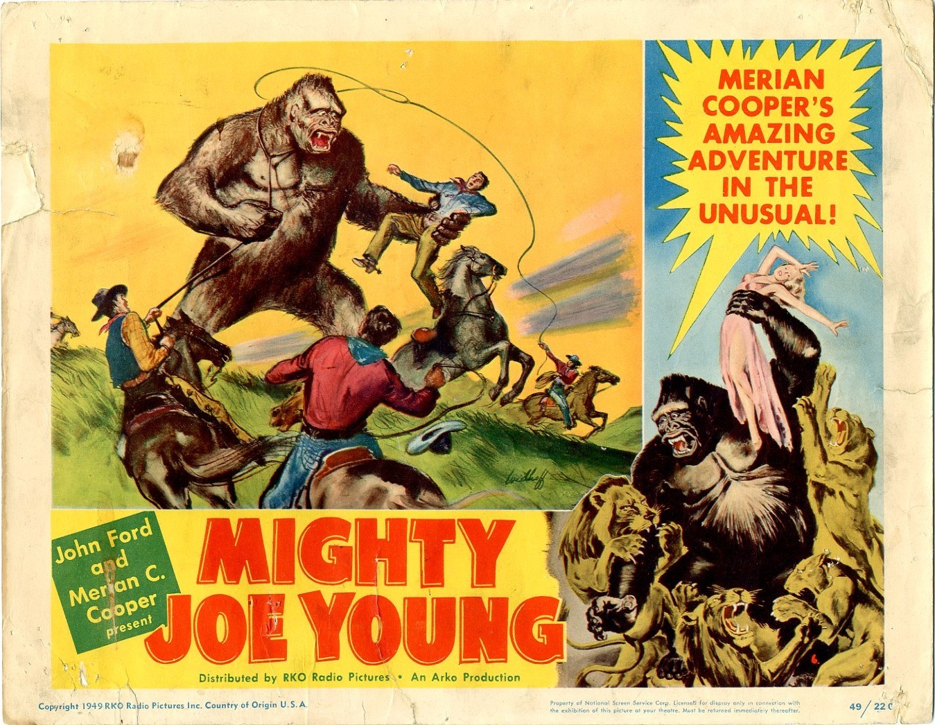 Mighty Joe Young 1949 / Issue #1 | Sold Details | Four ...