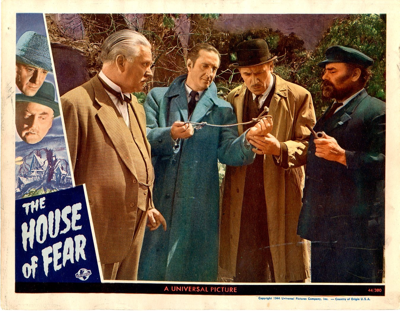 The House of Fear 1945 / Issue #1 | Sold Details | Four ...