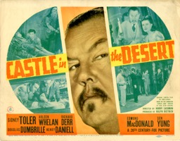 Castle In The Desert  1941  8 Lobby Card Set - Primary