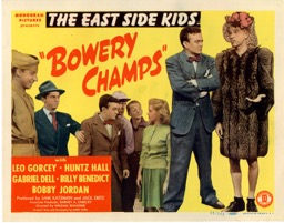 Bowery Champs  1944  8 Lobby Card Set - Primary