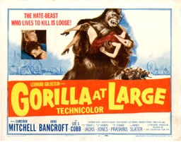 Gorilla At Large 1954  - Primary