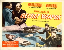 Sherlock Holmes & The Secret Weapon R1948 - Primary