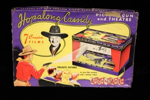 Hopalong Cassidy Picture Gun & Theatre - Primary