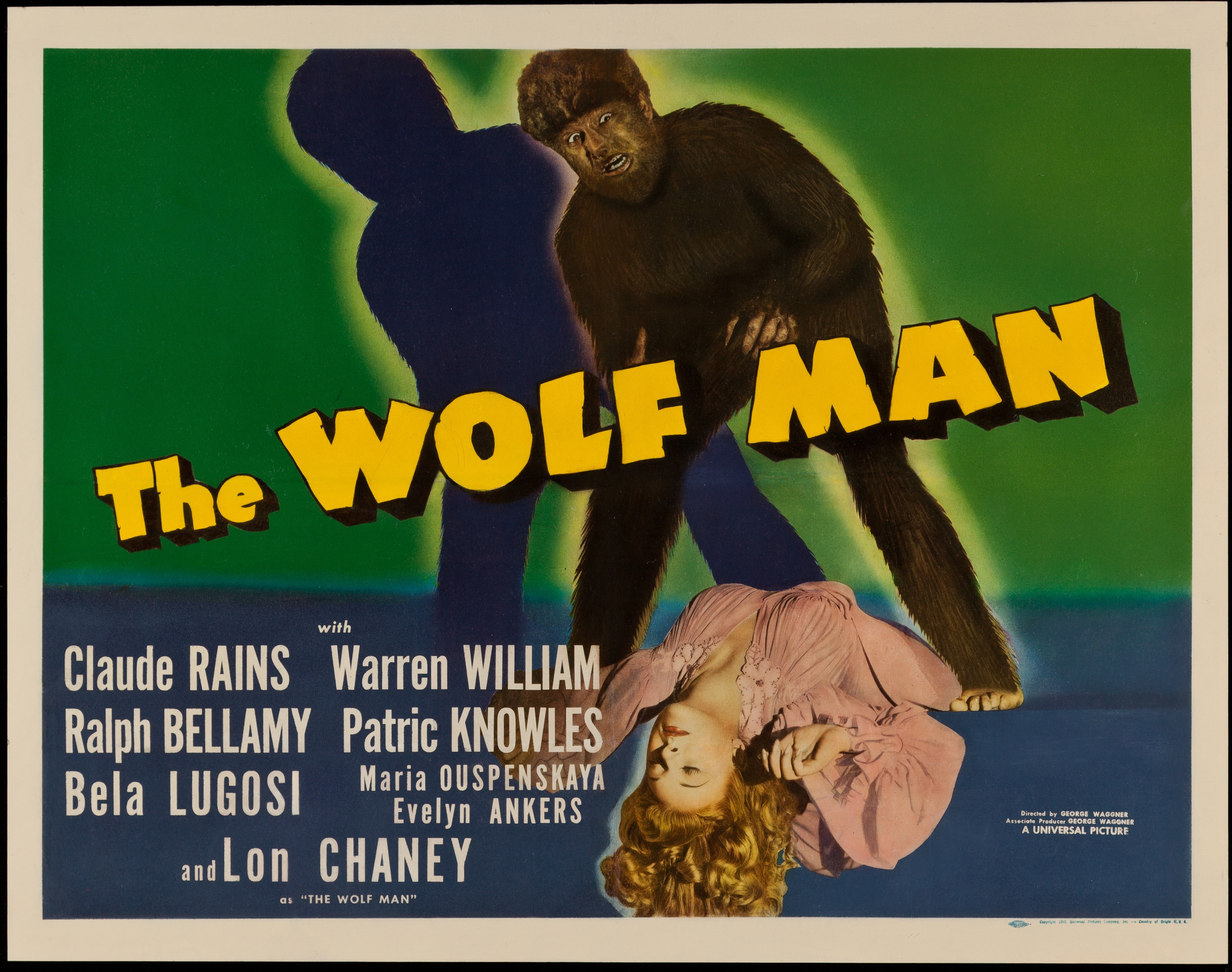Wolf Man 1941 - Primary