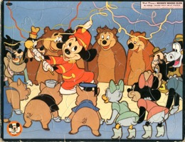 Mickey Mouse Club Puzzle - Primary