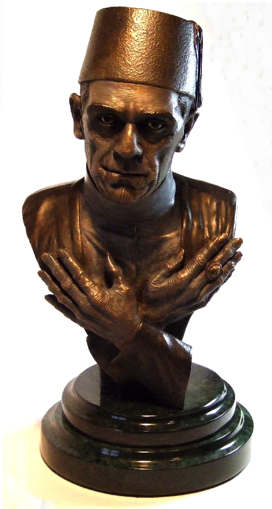 Mummy Ardath Bay Bronze Bust - Primary