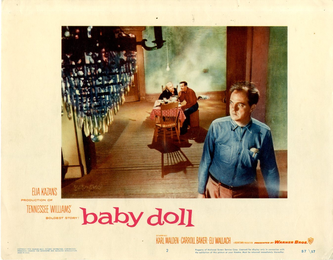 Baby Doll    1957  8 Lobby Card Set - 6800