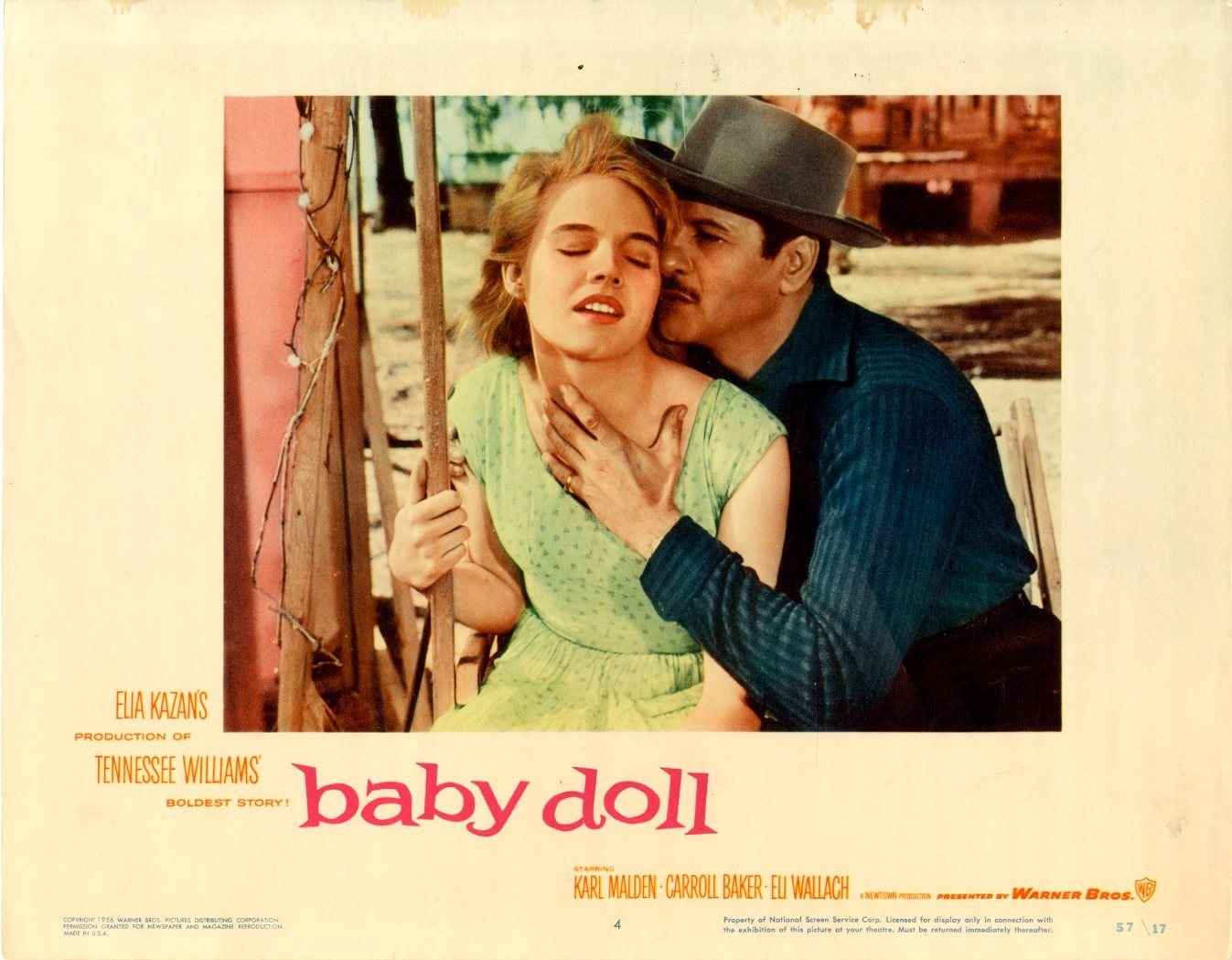 Baby Doll    1957  8 Lobby Card Set - 6802