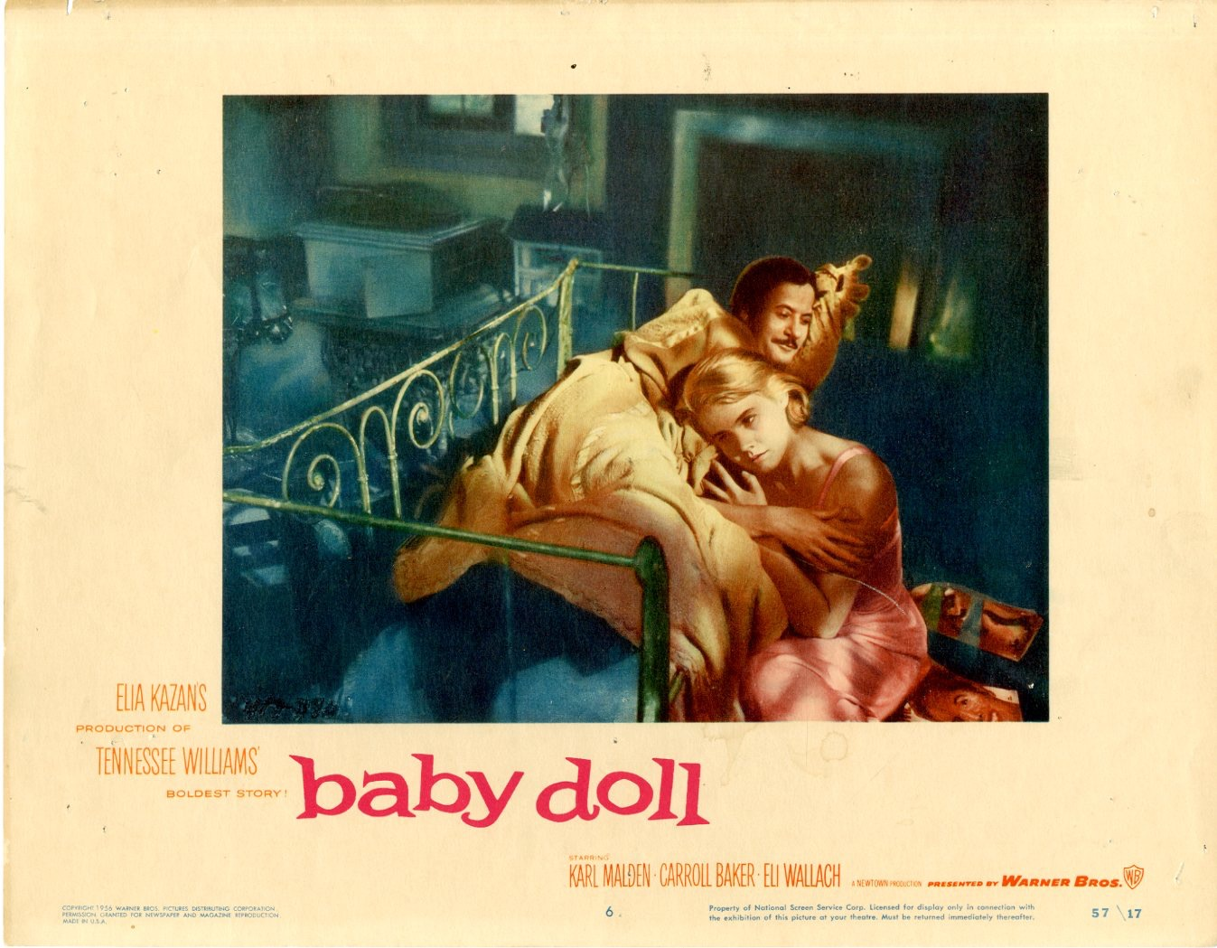 Baby Doll    1957  8 Lobby Card Set - 6804