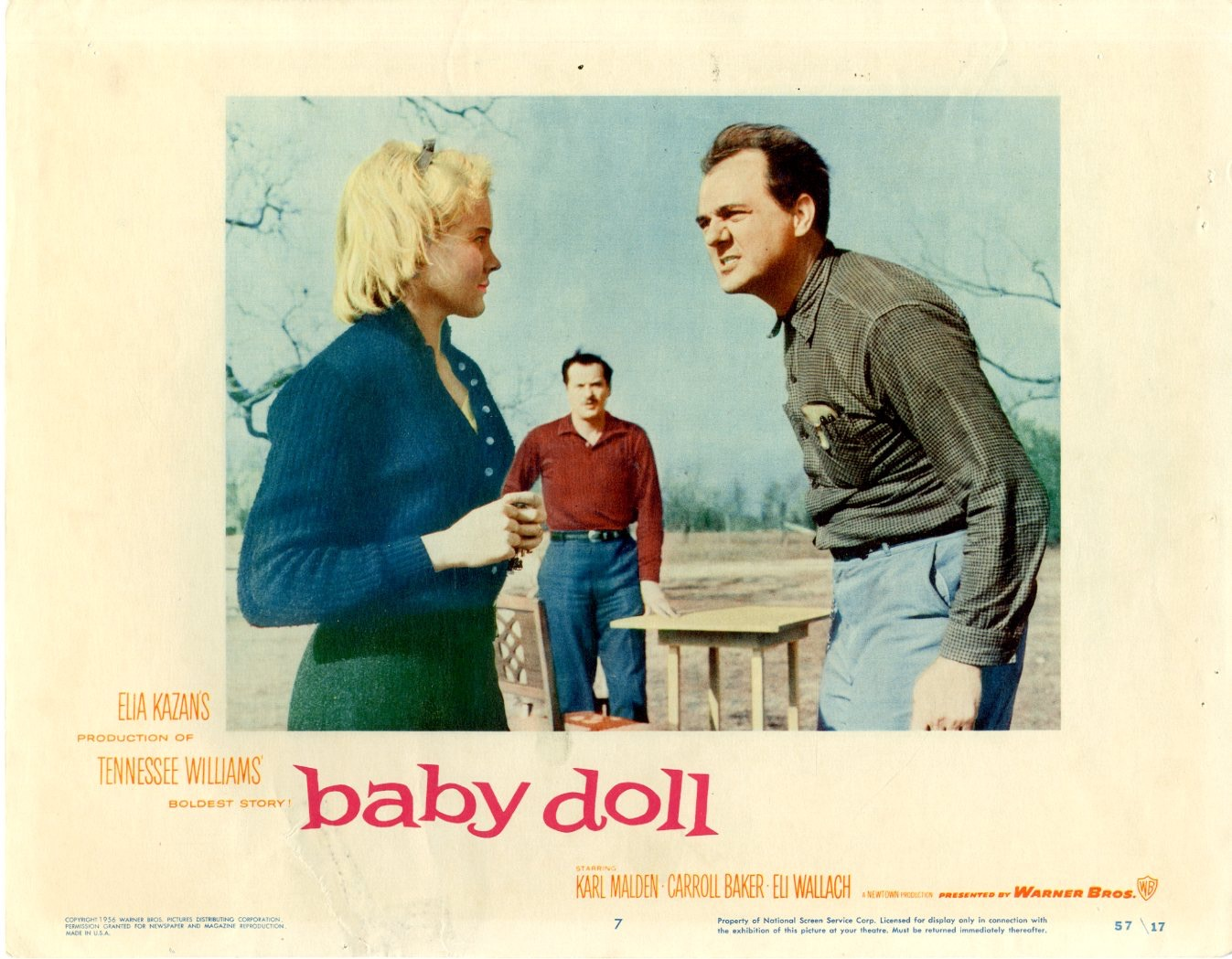 Baby Doll    1957  8 Lobby Card Set - 6805