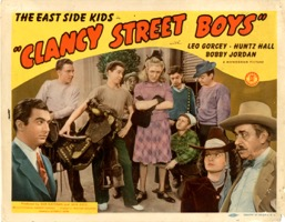 Clancy Street Boys  1943  8 Lobby Card Set - Primary