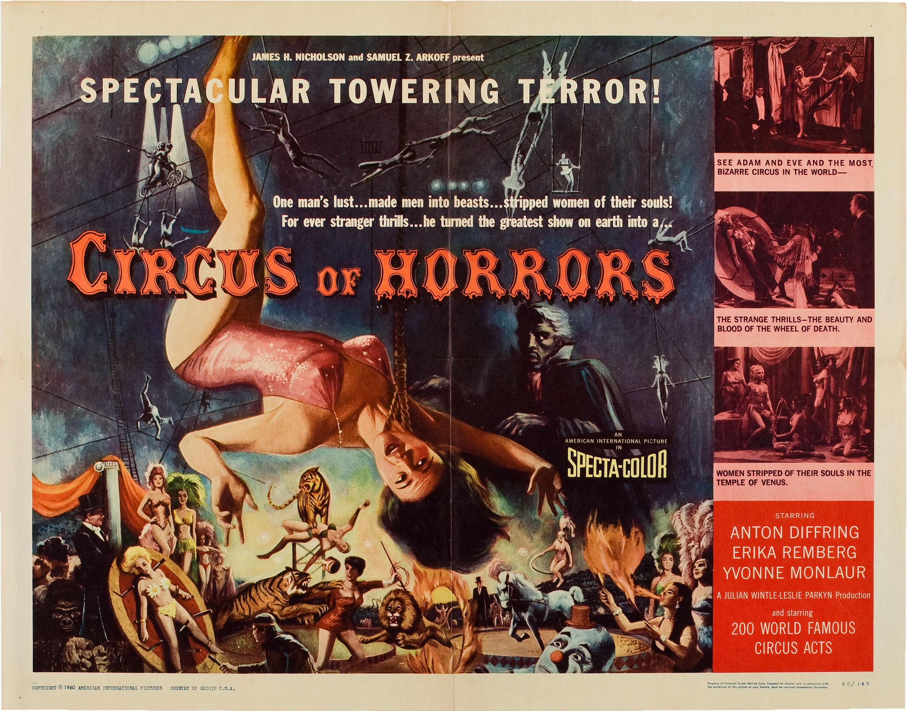 how to join the circus of horrors