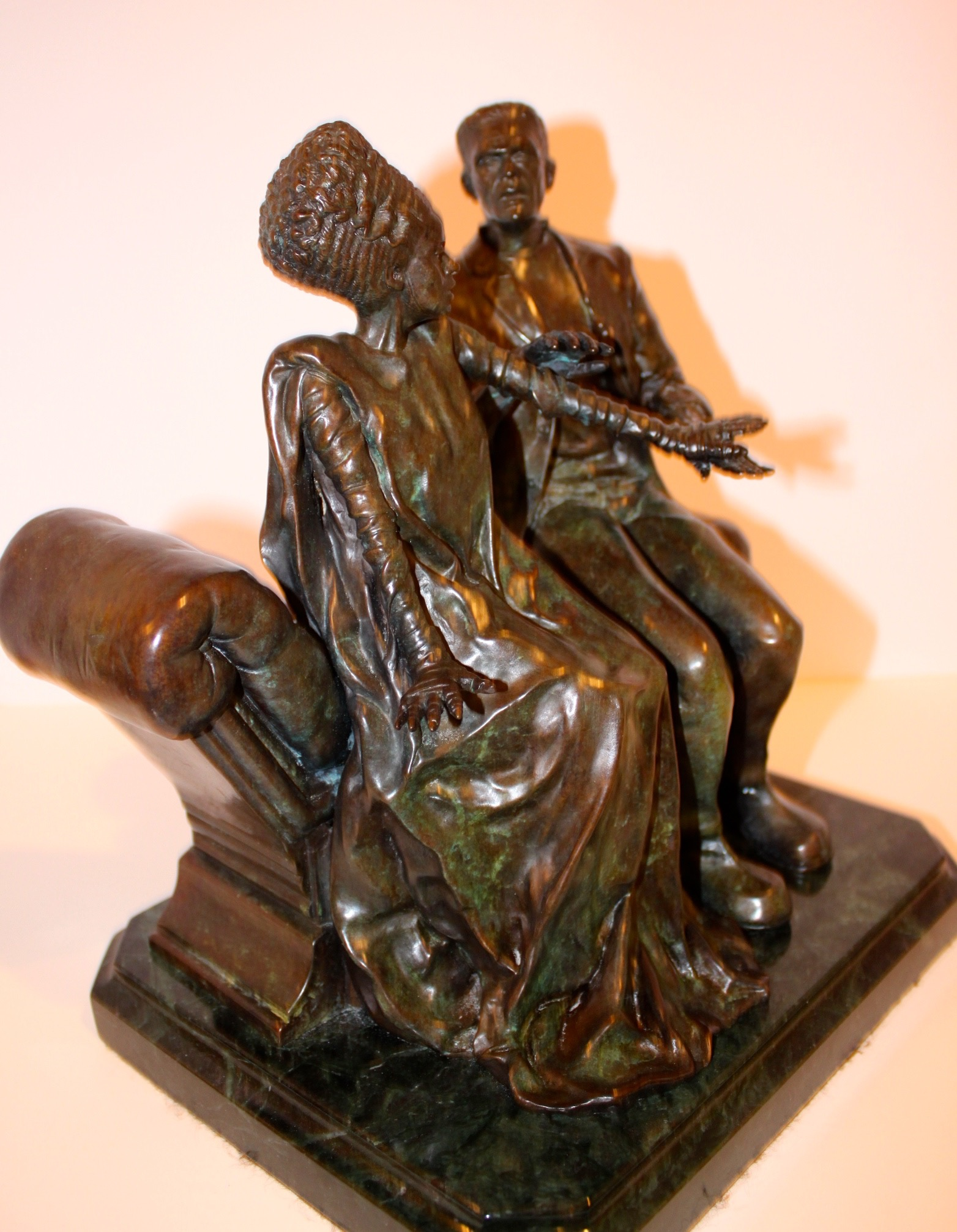Bride And The Monster Bronze - 17912