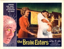 Brain Eaters  Lobby  1958  8 Lobby Card Set - Primary