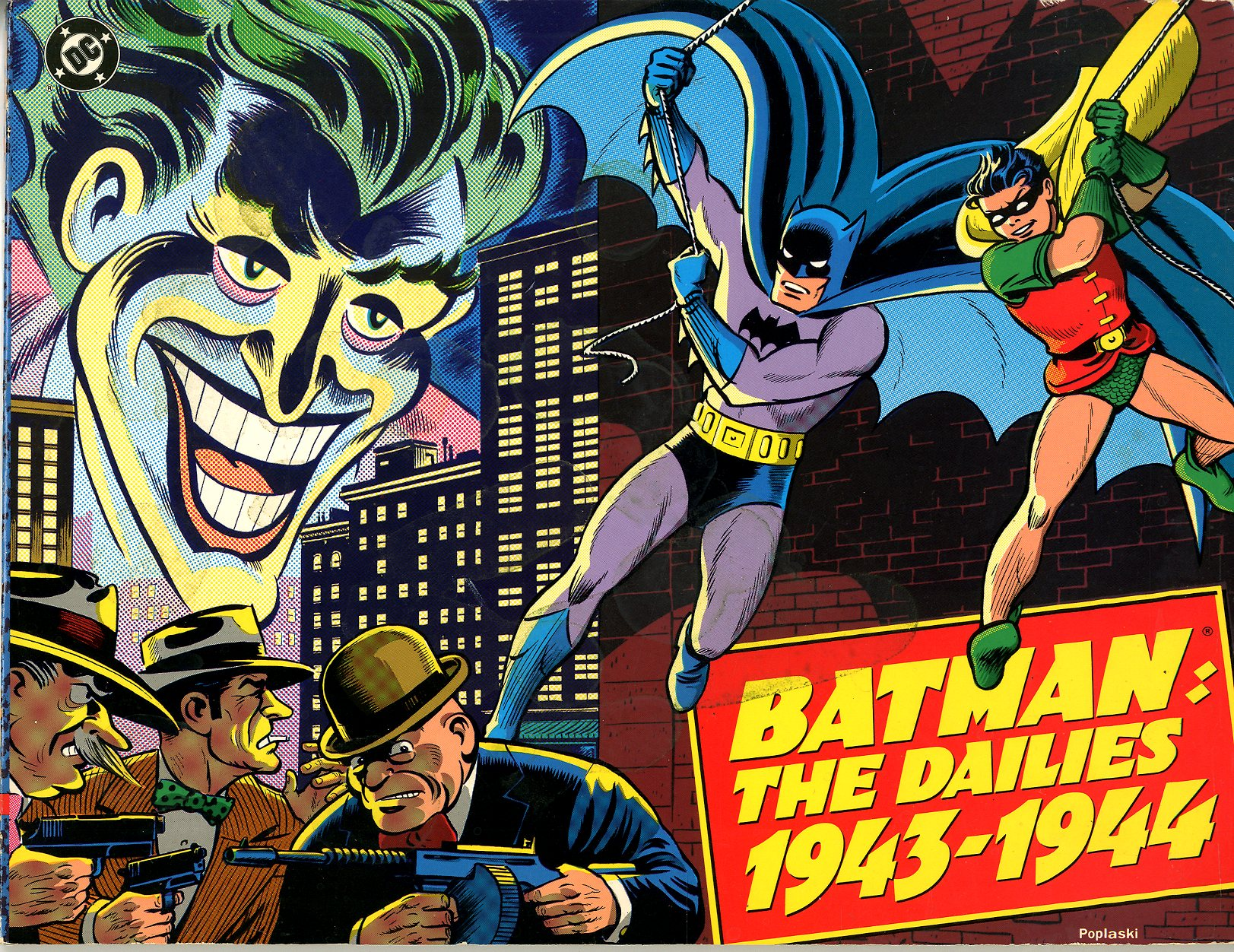 Batman The Dailies 1943 1944   Primary